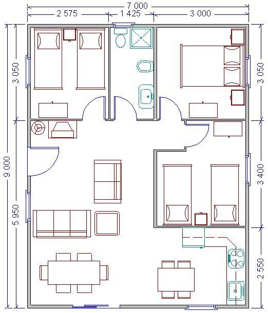 Planos de casas prefabricadas quotes - Planos casas modulares ...